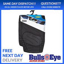 Ring Automotive Universal Rubber Car Mat Set - Dura Shield 2000 - Black RMAT13
