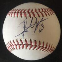 Justin Upton LA Angels Atlanta Braves Autographed Signed Baseball PSA/DNA COA