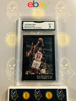 1999 Upper Deck Michael Jordan #49 - 9 MINT GMA Graded Basketball Card