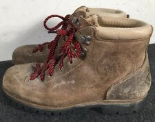 VTG Vasque Italy Light Brown Cowhide Alpine Mountaineering Boots Men's Size 8 B