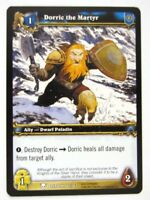 WoW: World of Warcraft Cards: DORRIC THE MARTYR 182/361 - played