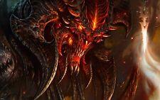 Poster A3 Diablo 3 III Videojuego Videogame Cartel Decor Impresion 01