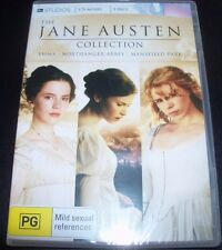 The Jane Austen Collection ITV (Emma Northanger Abbey (Aust Reg 4) 3 DVD – New
