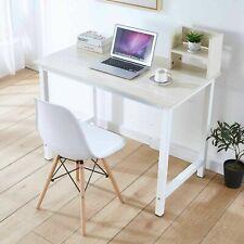 Wood Computer Desk Pc Laptop Table Study Workstation Office Home Furniture Oak