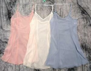 Babydoll/Chemise in 3 gorgeous Pastel Colours S, M & L Sheer & Sexy BNWT