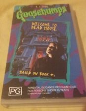 Goosebumps - Welcome To Dead House - VHS