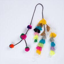 Decorative Tassel  Handmade Sewing Pom Pom Latkans Hanging Backpack Accessories