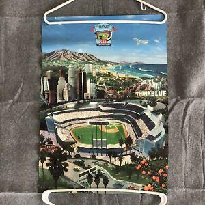 "Vintage 1992 Los Angeles Dodger Stadium 30th Anniversary Poster 24""x17"" McMacken"