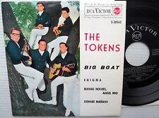 "TOKENS Big Boat Enigma Buenas Noches Angel Mio SPAIN RCA 1962 4song 45 7""EP e115"