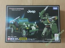 TAKARA TOMY TRANSFORMERS MASTERPIECE MP-47 HOUND JEEP WILLYS MP47 DISPONIBILE