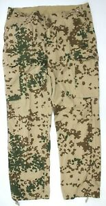 """GERMAN ARMY COMBAT TROUSERS  in TROPENTARN CAMO 38"""" need small repair (AUC)"""