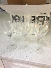 Crate & Barrel Wine Glass Glasses Set of 6