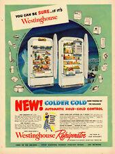 1947 vintage appliance Ad, Westinghouse Refrigerators, 'Aristocrat-10' -100313