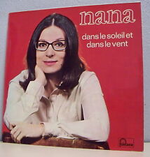 """33T NANA MOUSKOURI LP 12"""" DANS LE SOLEIL ET LE VENT Rouge FONTANA 885558"""