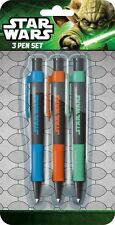 Star Wars Pack of 3 Pens Stationery Set