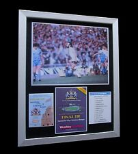 TOTTENHAM / SPURS 1981 FA CUP FINAL LTD TOP QUALITY FRAMED+EXPRESS GLOBAL SHIP