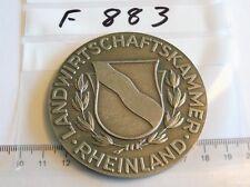 Medaille Landwirtschaftskammer Rheinland silbern (F883)