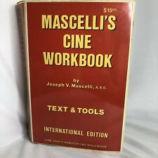 Mascelli's Cine Workbook Text And Tools International Edition 1973