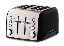 Russell Hobbs Heritage Vogue 4 Slice Wide-Slot Toaster - Black