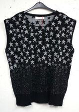 Ärmellose Damen-Pullover & -Strickware mit Rundhals-Ausschnitt und Sterne