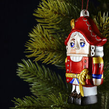 Porcelain Christmas ornament Nutcracker Christmas tree decoration