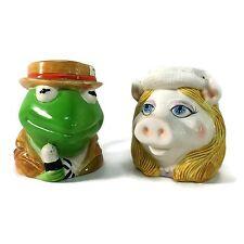 VTG Muppets Kermit The Frog Miss Piggy Coffee Cup/Mug Sigma Tastesetter Japan