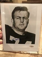 Mike Mccormack Autographed/Signed 8x10 Photo TRISTAR Cleveland Browns HOF