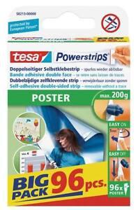 Tesa Powerstrips Posterstrips 58213 Bande Collante