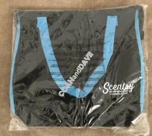 Scentsy Tote Bag Purse Black And Aqua