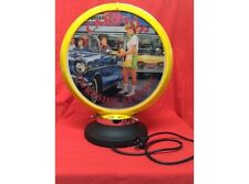 NEW Petrol Bowser Globe and Base CarHop illuminated sign