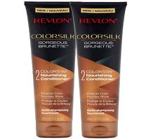 REVLON ColorSilk Gorgeous Brunette 8.45 Fluid Ounces Nourishing Conditioner Set