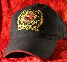 Basecap IPA International Police Association blau gestickt