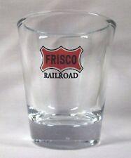 FRISCO RAILROAD / RAILWAY LOGO SHOT GLASS