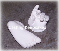 CHILD Foot Hand Prints CASTING KIT Molds Toddler MATTE