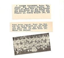 Abbotsford Guards Wisconsin 1953 Baseball Team Picture