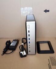 HP T730 THIN CLIENT ORIGINAL 90W PSU STAND 32GB SSD 4GB RAM QUAD CPU & DISPLAY