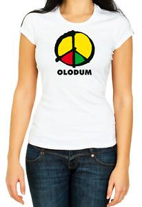 Michael Jackson Olodum They Don't Care T-shirt 3/4 Short Sleeve  Woman K835