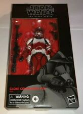 STAR WARS CLONE COMMANDER FOX BLACK SERIES 6 INCH FIGURE NEW IN CORUSCANT GUARD