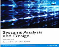 Systems Analysis and Design by Kenneth Kendall, Julie Kendall (Paperback, 2013)