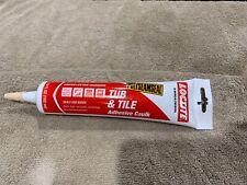 Loctite Tub & Tile Adhesive Caulk Almond 5.5 oz. Paintable Chaulking