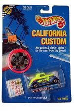 1989 Hot Wheels California Custom '34 Ford