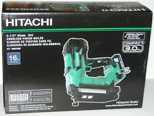 "Hitachi NT1865DM 2-1/2"" 18V Brushless Lithium Ion 16Ga Straight Finish Nailer"