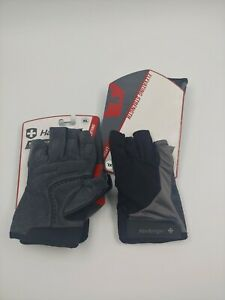 NEW Harbinger Men's BioFlex Elite Weightlifting Gloves with Padded Leather Palm