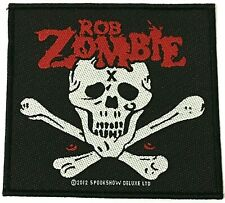ROB ZOMBIE - Woven Patch Sew On OG 2012 Official aufnäher écusson parche