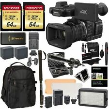 Panasonic HC-X1000 4K Camcorder 20x + 128GB + Vidpro Microphone Bundle NEW!
