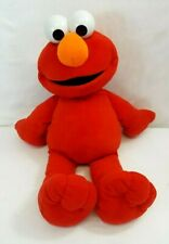 "Vintage 2002 Fisher Price Sesame Street BIG BOOK ELMO 30"" Giant Jumbo Plush Doll"