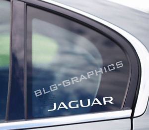 Jaguar Vinyl Decal sticker Front, Side, Back, Window, Euro
