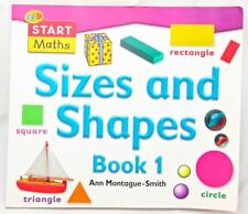 Start Maths Sizes and Shapes Book 1 Size Shape Colours Simple Games Math Skills