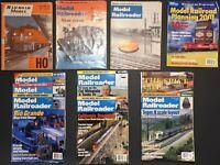 Lot of 11 Model Railroader Magazine 1960 1961 1999 2001 Model Railroad Planning