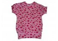 Handmade süßes T-Shirt Gr. 80 / 86 rosa Wolken !!